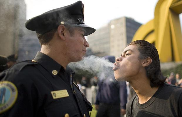 policesmoke