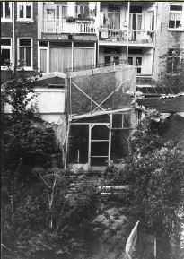 Invernadero en casa de Wernard