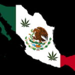 Mapa Mexico Con Bandera