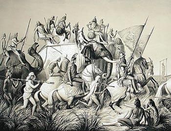 Batalla contra elefantes
