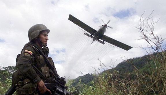 Desde el año 2000 han sido fumigadas 1,5 millones de hectáreas de cultivos ilícitos en Colombia.