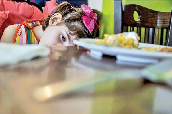 Graciela padece el síndrome Lennox-Gastaut. Foto: Zócalo   The Washington Post