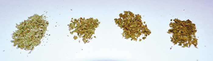 hierbas vaporizadas