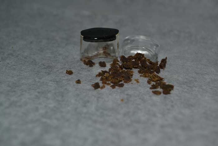Tarro para vaporizar extracciones