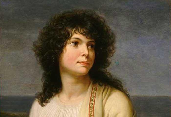 Andrea Appiani Madame Hamelin (1798)