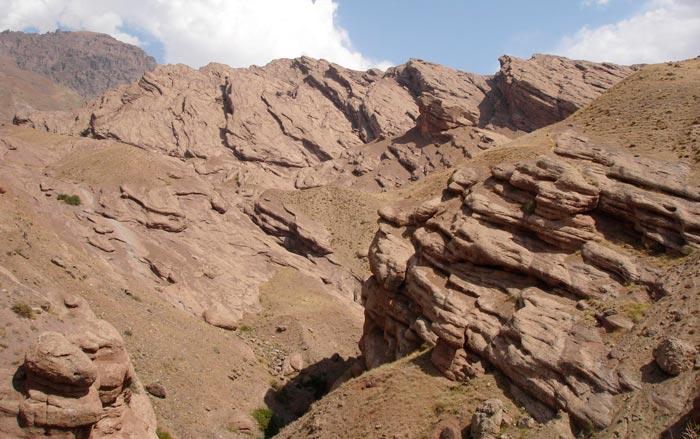 Vistas desde el Castillo Alamut