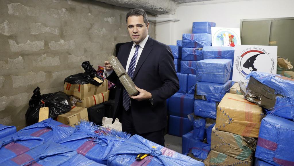 François Thierry , ex jefe de la lucha contra el narcotráfico, el 14 de diciembre de 2012 en Nanterre, en los suburbios de París.