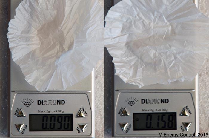 En ocasiones, las bolsas tienen un peso considerable que va incluido en el precio.