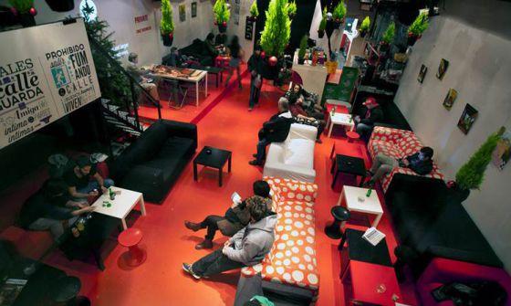 Interior del desaparecido Club Airam