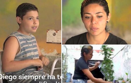 madre cultiva marihuana por amor a su hijo y desafia las leyes