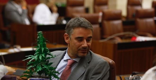 El diputado de Podemos en Andalucía Juan Ignacio Moreno Yagüe