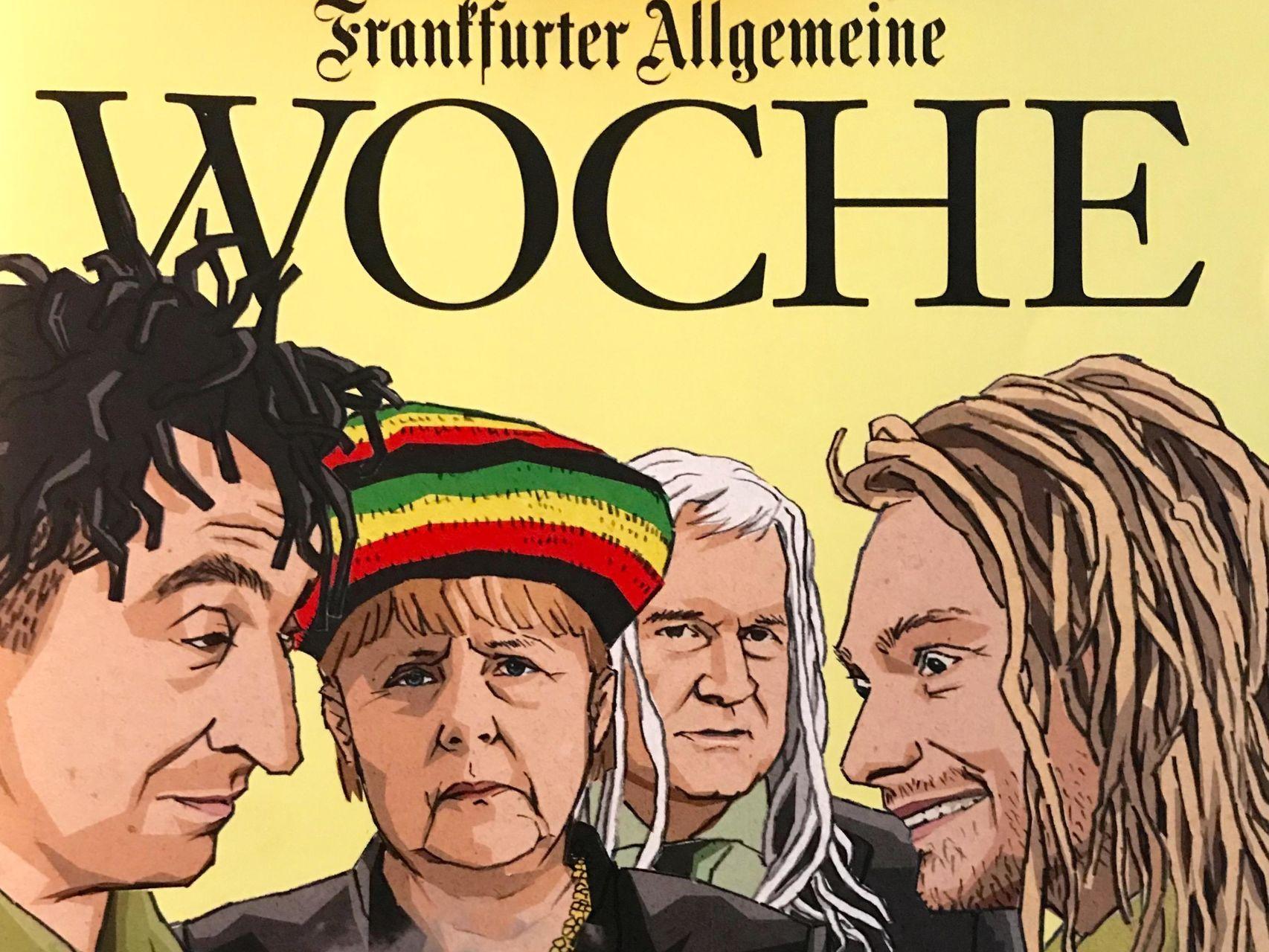 La portada del semanario de actualidad 'Frankfurter Allgemeine Woche'.