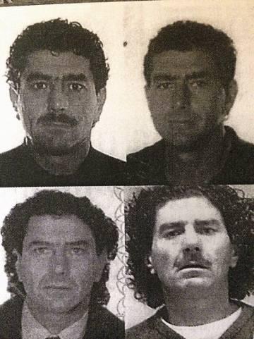 Imágenes de Antoni Quinzi facilitadas por la policía. La imagen inferior derecha corresponde a su entrada en prisión.