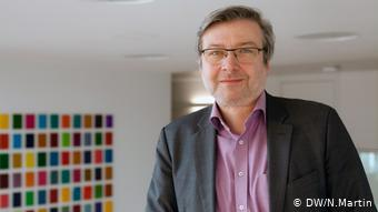 Dirk Heidenblut - für die SPD im Gesundheitsausschuss und zuständig für Drogenpolitik (DW/N.Martin)