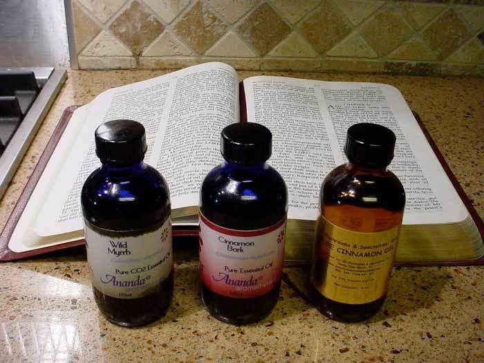 Ingredientes del oleo santo