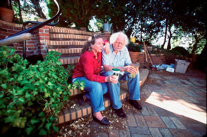 Alexander Shulguin y su mujer, Ann