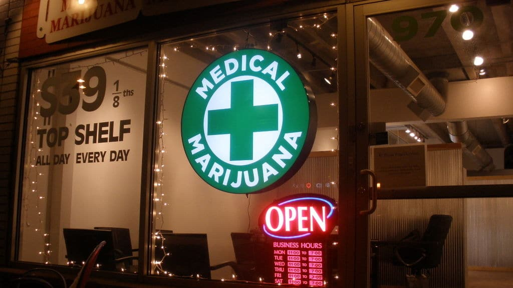 Un dispensario de cannabis medicinal en Denver, Colorado (EEUU).