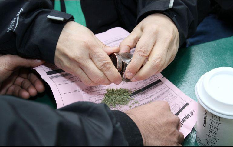 Uruguay y Canadá han argumentado que la regularización del cannabis es una medida eficiente para luchar contra el mercado negro de esta substancia. EFE/Archivo