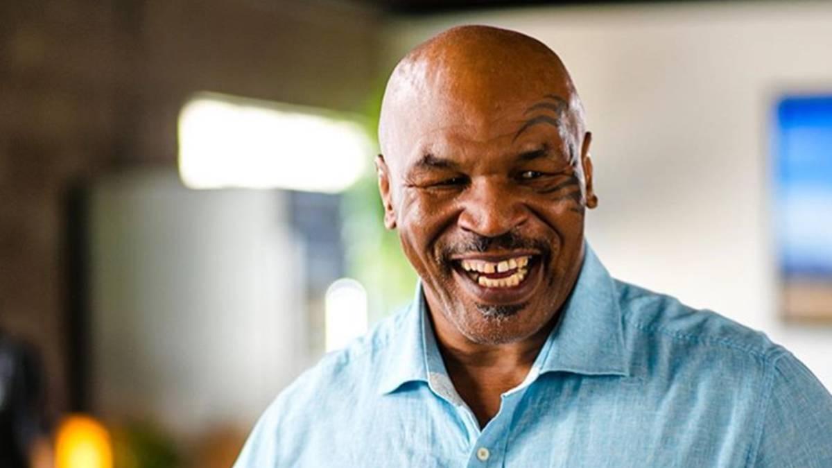 Mike Tyson sonriendo. Foto Instagram @miketyson