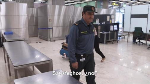 El guardia civil en el programa 'Control de Fronteras'. DMAX
