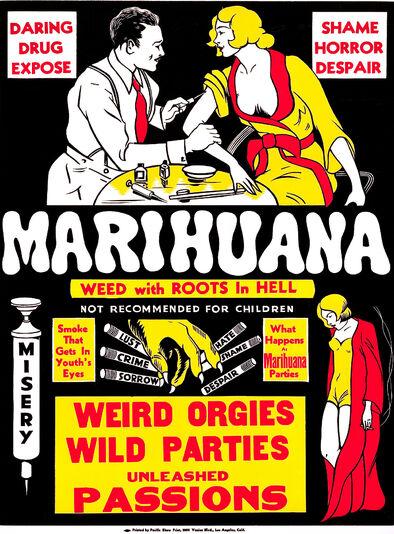 Cartel de la película 'Marihuana' (1936)