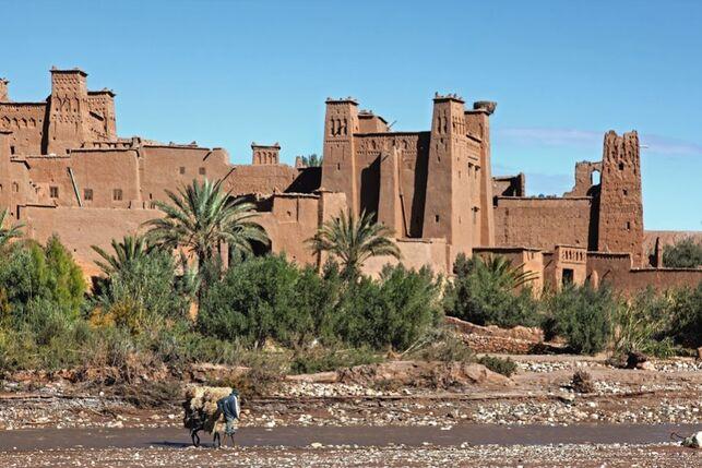 Ksar de Ait Ben Hadu, en Marruecos.