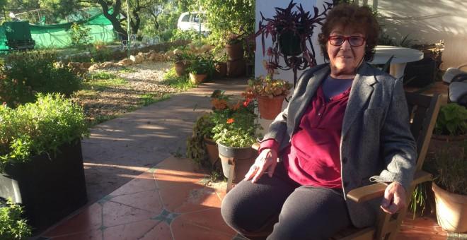 Fernanda de la Figuera, activista en favor del consumo de cannabis.