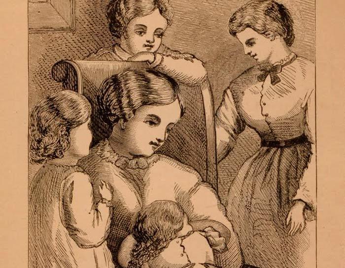 Litografia original de Mujercitas