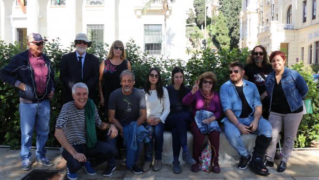 Adelante Málaga apoya a veterana activista del cultivo y uso del cannabis