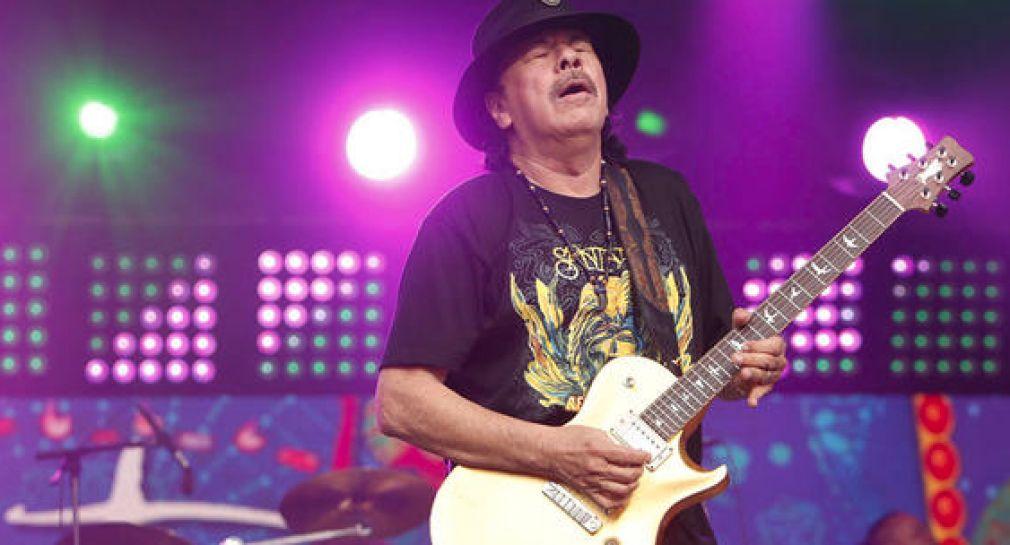 Carlos Santana lanza su marca de marihuana