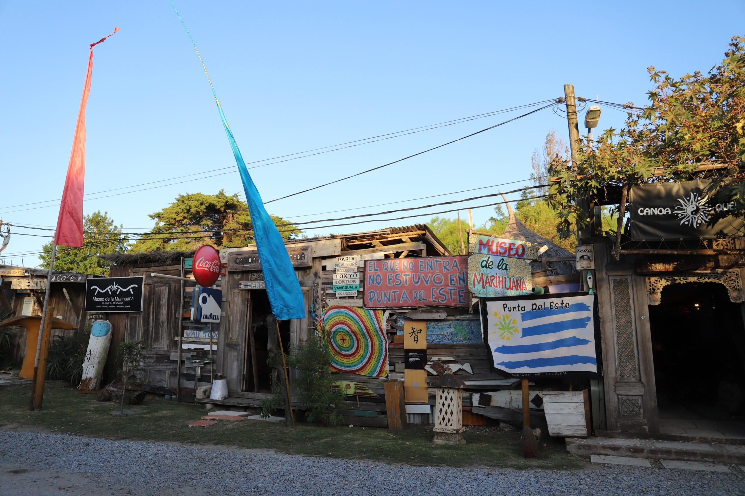 El Museo de la Cannabis en La Barra, Punta del Este