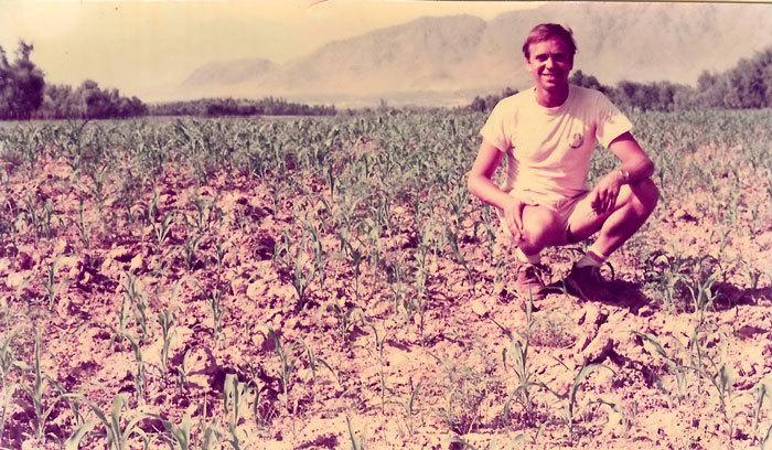 Ben Dronkers en Afghanistan años 70