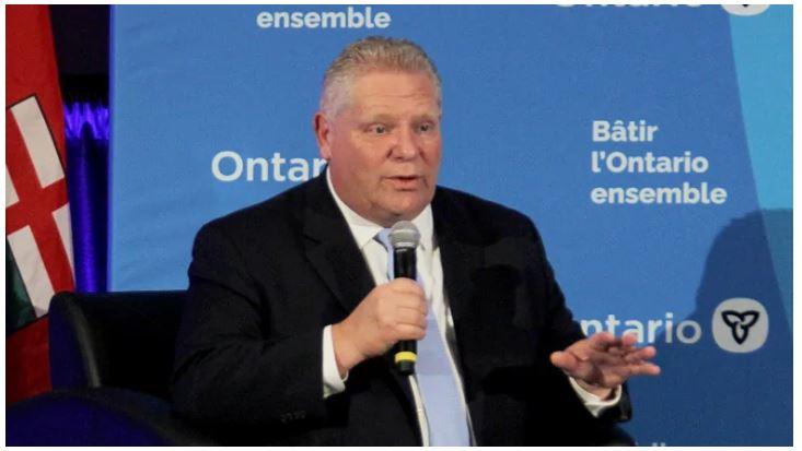 El lunes, el primer ministro de Ontario, Doug Ford, dijo que le preocupaba el impacto del COVID-19 en la economía de la provincia.
