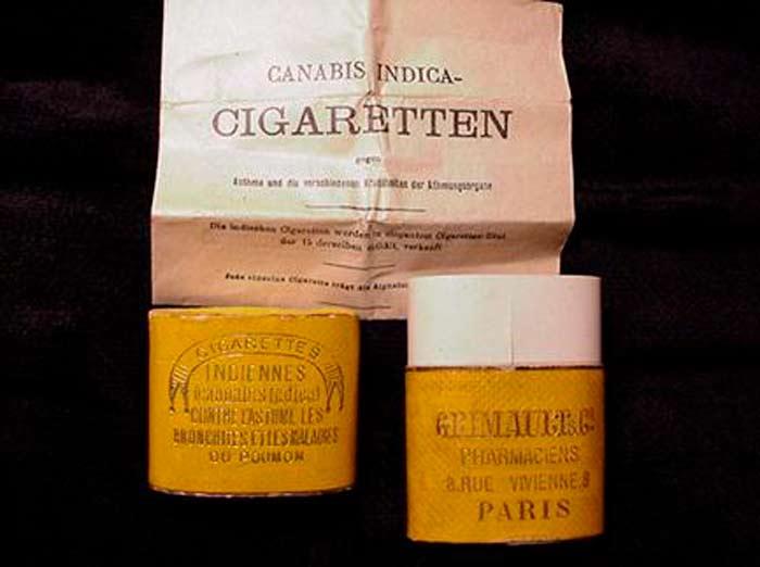 cigarrillos de cannabis Grimault