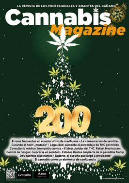 Portada Cannabis Magazine 200