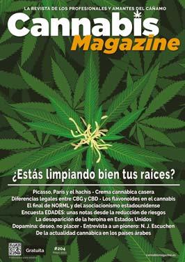 Portada Cannabis Magazine 204