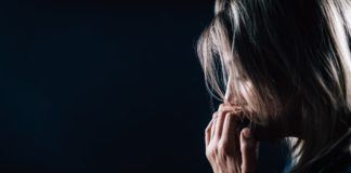 Anxiety Mental Disorder – Portrait of a Troubled Woman.