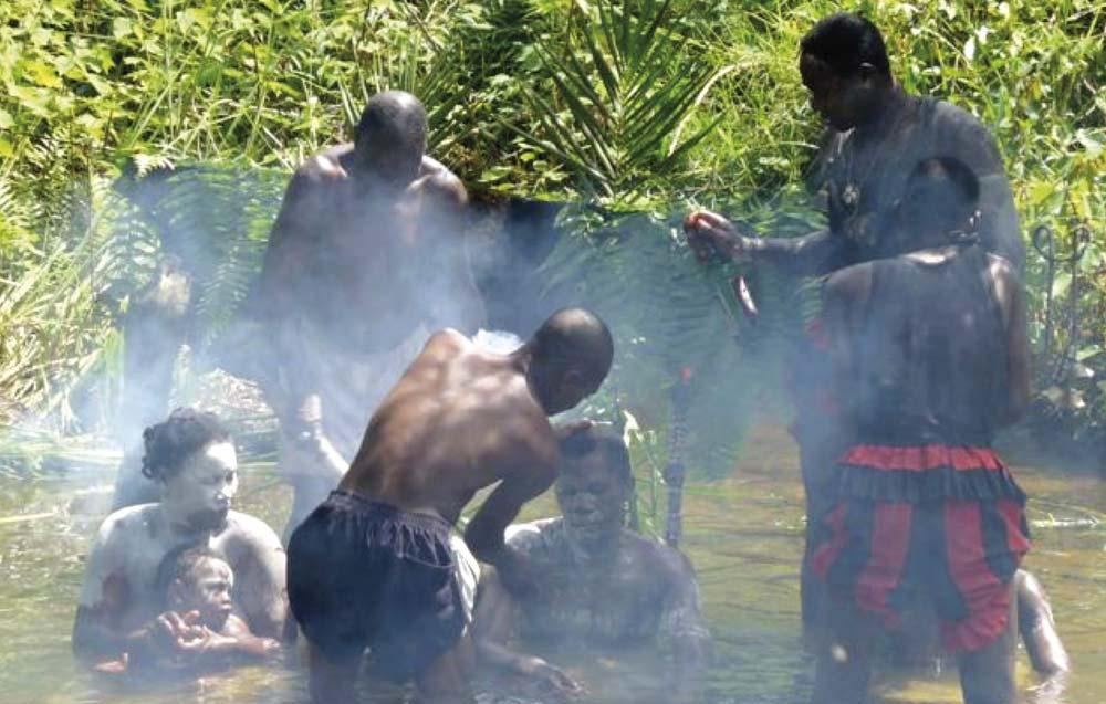 Ritual con iboga