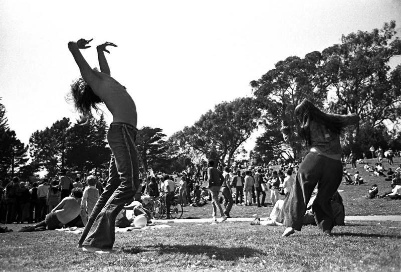 Bailando en Woodstock