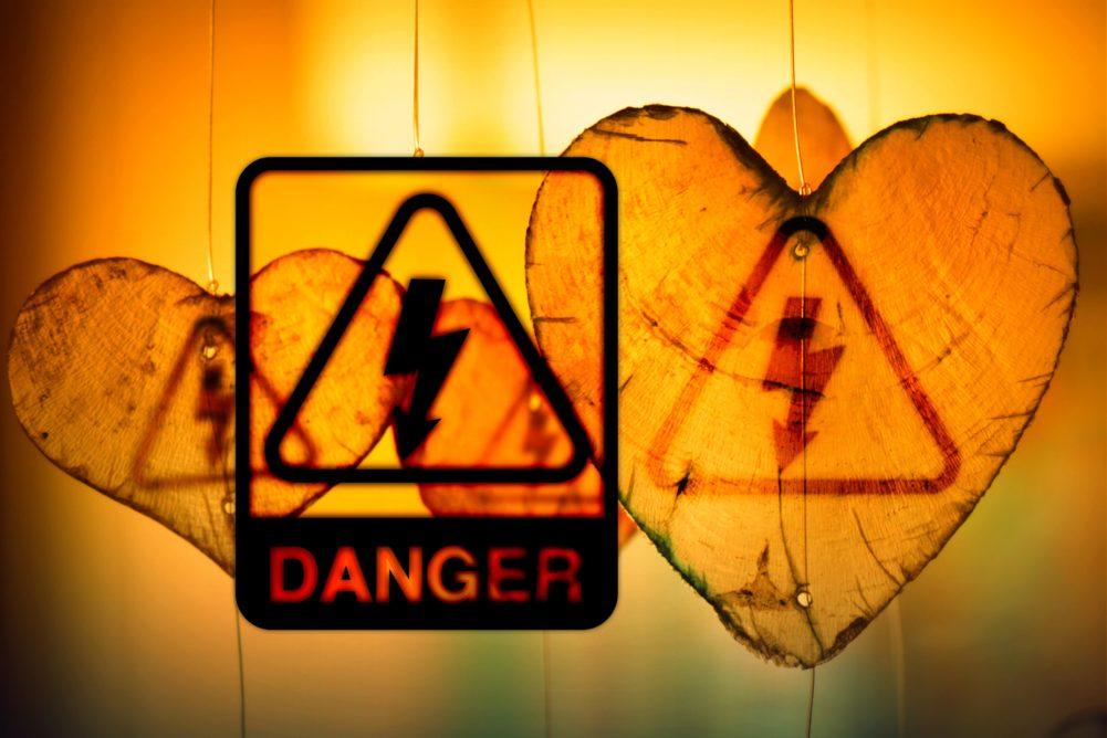 hearts, danger, love